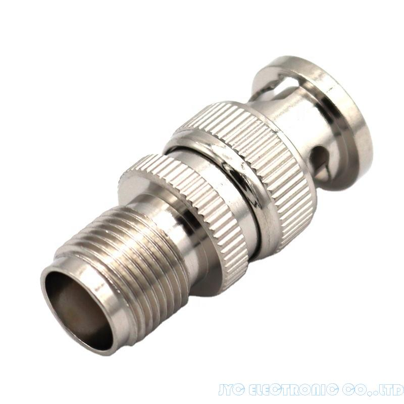 BNC plug male to TNC Female Coaxial Adapter