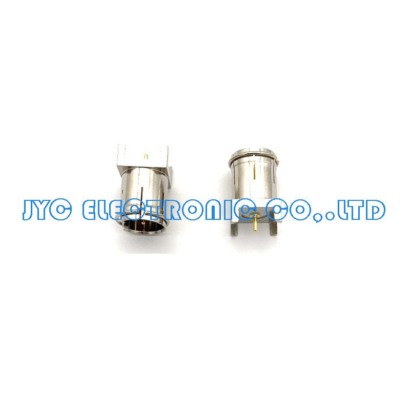 F Type Male for PCB Connector Coax Coaxial Cable RF Connector,Nickel plated